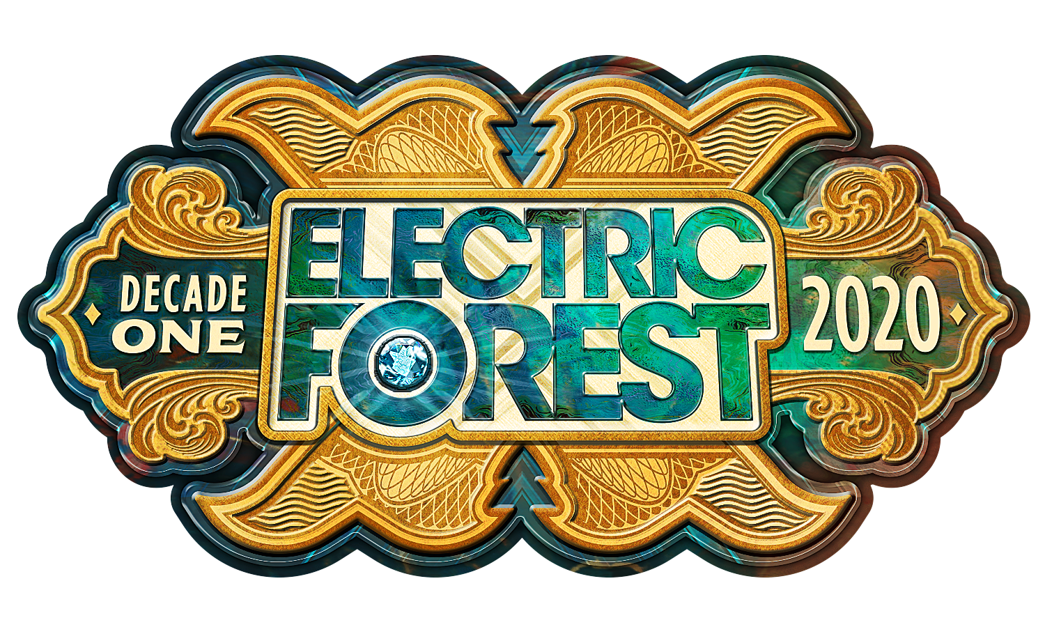 Electric Forest 2020 Full Logo